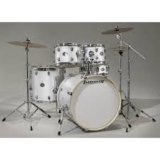 ludwig element white sparkle