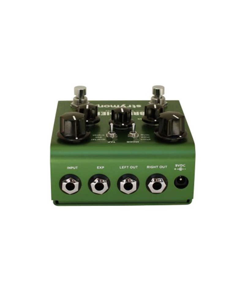 Strymon-Brigadier-dBucket delay pedal rear