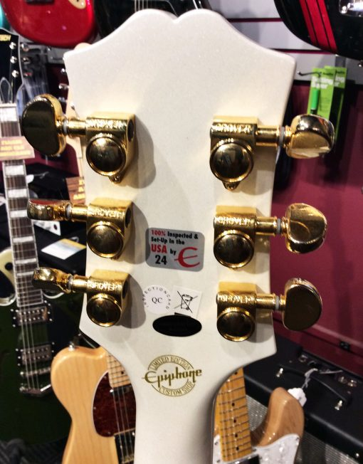 Epiphone Wildkat Limited Edition Gold/White