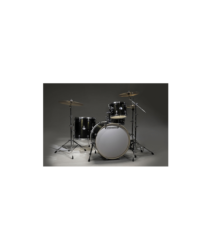 LUDWIG BLACK GOLD SPARKLE ELEMENT POP KIT
