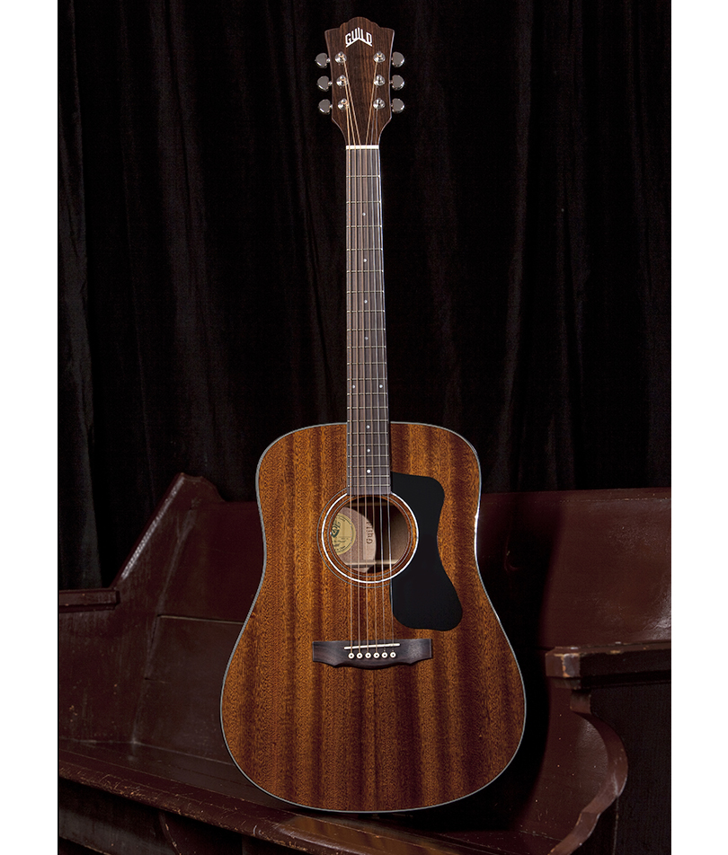 Guild-D-125-Mahogany-Dreadnought Acoustic Guitar