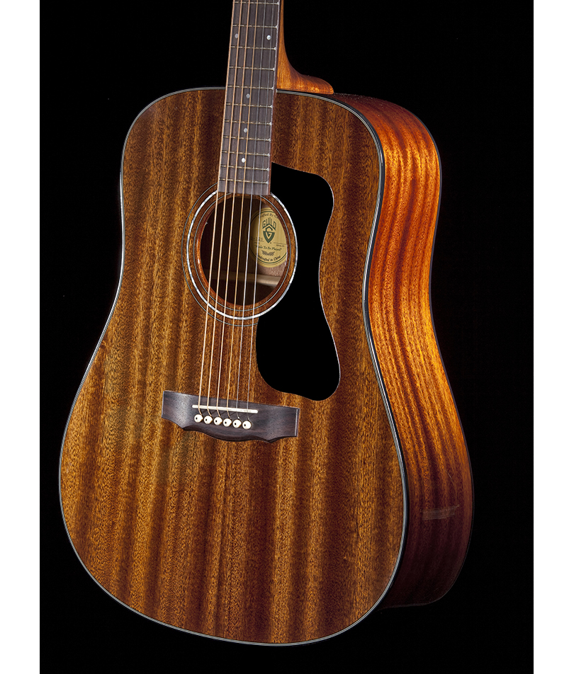 Guild-D-125-Mahogany-Dreadnought-Acosutic Guitar-Natural