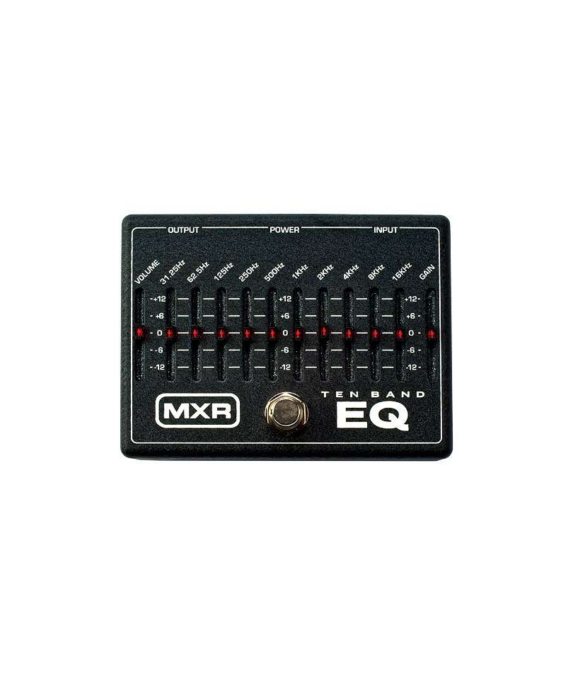MXR-10-Band-Graphic-EQ pedal