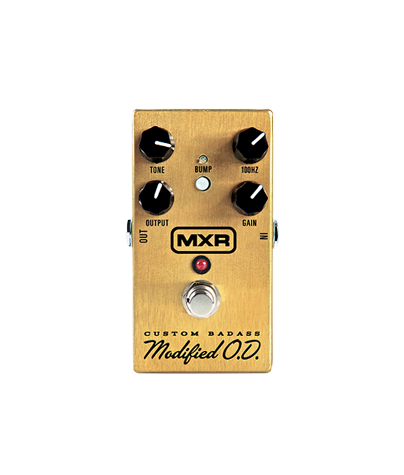 MXR-Custom-Badass-Modified-Overdrive pedal