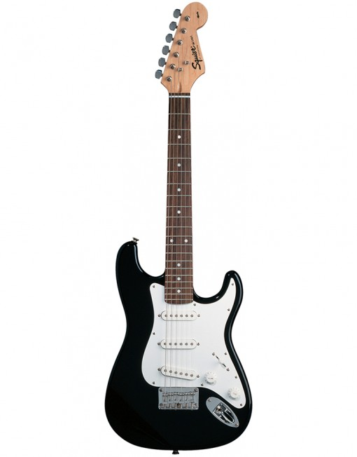 Squier-Mini-Black-Stratocaster-Front