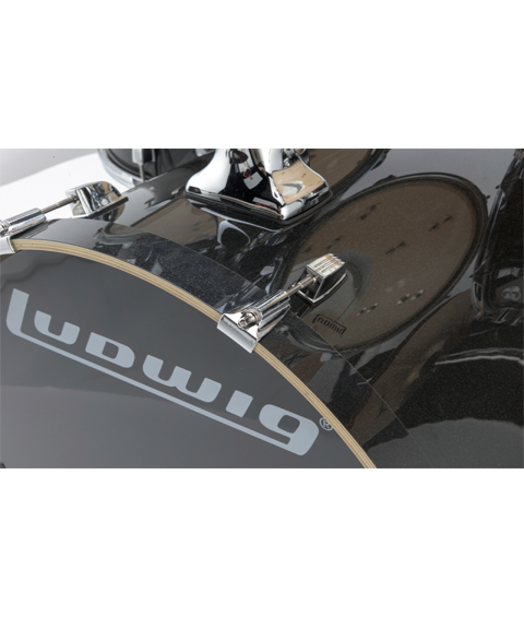 Ludwig Element Evolution Black Sparkle